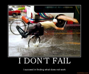 Surpasser peur de l'échec