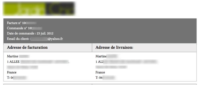 email-client-dans-facture-magento