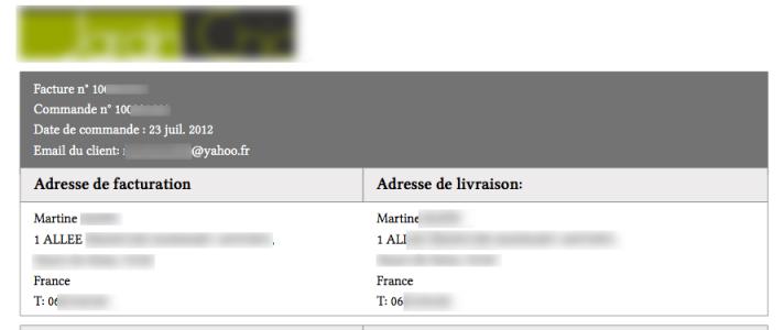 Ajouter l'email client dans une facture PDF de Magento