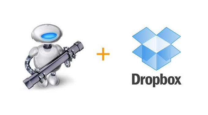 automatiser une sauvegarde avec dropbox et automator