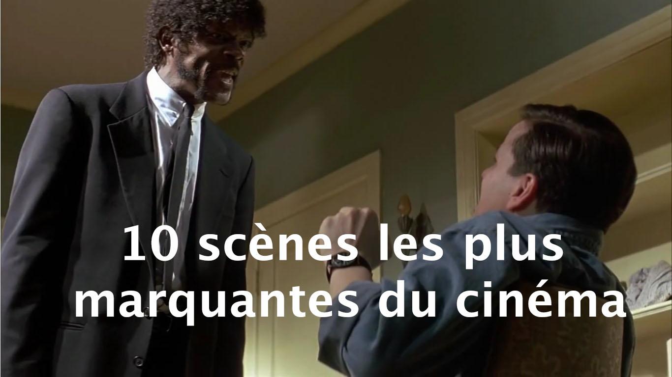 10 scènes les plus marquantes du cinéma