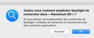 Résoudre les problemes de recherche dans Apple Mail