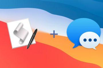 Envoyer un iMessage avec Apple Script